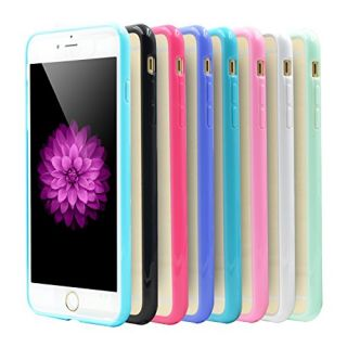 OKRAY 8 Pack Ultra Thin Slim Protective Scratch Resistant Stylish Color Case Cover Skin with TPU Bumper & Clear Back Pan