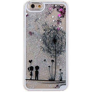IKASEFU Glitter Liquid Case for Iphone 6 4.7