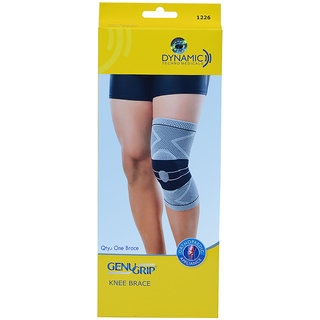 Dyna Genu Grip Knee Brace for Left Knee-Large