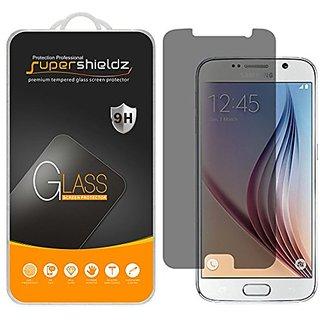 Supershieldz Samsung Galaxy S6 Privacy Anti-Spy Tempered Glass Screen Protector, Ballistics Glass 0.3mm 9H Hardness Feat