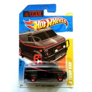 2011 Hot Wheels A Team Van Black #39/244