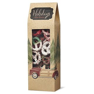 Wilton 415-5078 3 Count Christmas Holiday Sweet Swap Pretzel Treat Bags