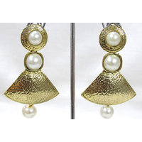 Antic Pearl Drop Earring