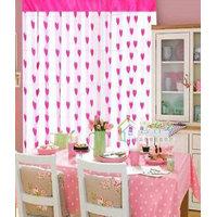 Deal Wala Designer Romantic Heart Curtain