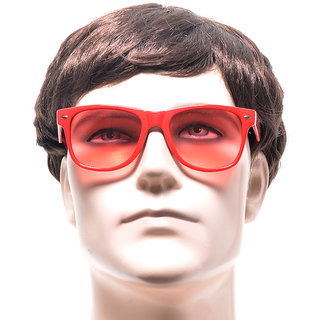 Funky Red Wayfarer Unisex Sunglasses