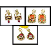 Combo Offer of Nice Colour Earring