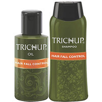 Trichup Hair Fall Control Kit (Hair Fall Control Oil 2 X 200ml), (Hair Fall Control Shampoo 200ml) (PACK OF 3)