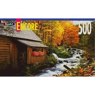 Creekside Mill 500 Piece Puzzle By Encore