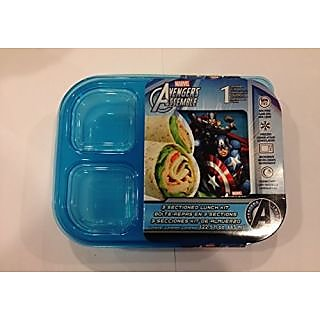 Marvel Avengers Assemble 3 Sectioned Lunch Kit