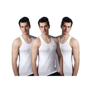 Cotton vests pack of 3