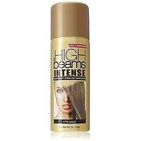 high beams Intense Temporary Spray on Hair Color, Gold, 2.7 Ounce