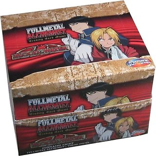 Full Metal Alchemist CCG: Blood & Water Theme Starter Deck Box