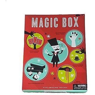 MAGIC BOX! FIVE AMAZING MAGIC TRICKS! by Merchsource