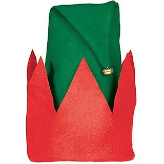 Amscan Fun-Filled Christmas & Holiday Party Child ELF Hat (1 Pack), 13