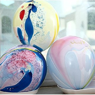 20pcs Camouflage Graffiti Plain Latex Balloons Party Wedding Supplies.size 10