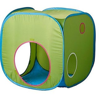 Ikea BUSA 602.435.76 Childrens Tent InDoor - OutDoor Play PlayHouse, 28.25 x 28.25 x 28.25 Inch