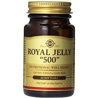 Solgar Royal Jelly 500 Supplement, 60 Count
