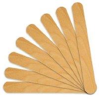 100 Salon Waxing Hair Removal Wooden Spatulas Wax Applicator Wood Eyebrow Bikini