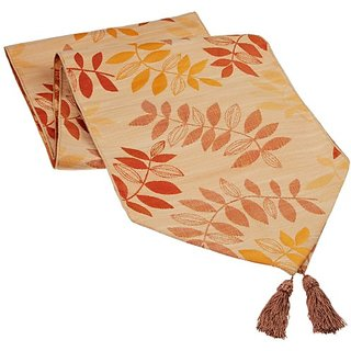 Trendex Home Designs Hudson Unbacked Tassel Runner, 72-Inch, Canyon