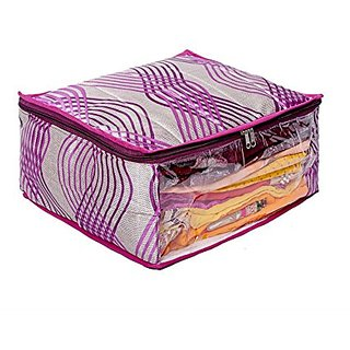 Kuber Industries Heavy Quilted Large Saree Cover (With Capacity Of Upto 15 Sarees) Ki00548