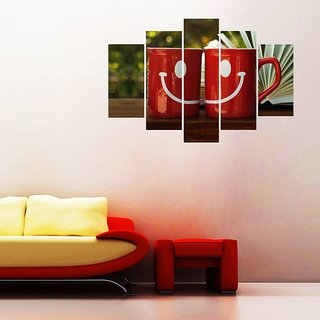 Impression Wall Smiley Face Wall Sticker