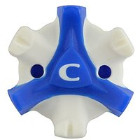 CHAMP Scorpion Stinger Tri-Lok Spikes for FootJoy Golf Shoes, Blue/White