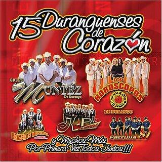 15 Duranguenses De Corazon
