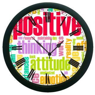AE World Positive Wall Clock (With Glass)