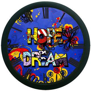 AE World Hope Dream Wall Clock (With Glass)