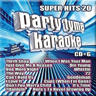 Party Tyme Karaoke - Super Hits 20 [16-song CD+G]