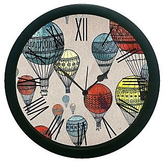 AE World Parachute Wall Clock (With Glass)