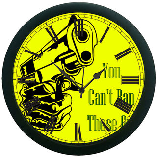 AE World Quotes Wall Clock (With Glass)