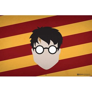 Hungover Harry Potter Face Poster Special Paper Poster (12x18 inches)