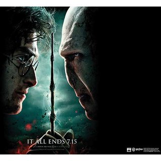 Hungover Harry Potter And Voldemort Poster Special Paper Poster (12x18 inches)