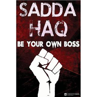 Hungover Sadda Haq Special Paper Poster (12x18 inches)