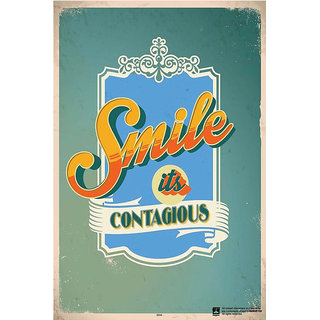Hungover Contagious Smile Special Paper Poster (12x18 inches)