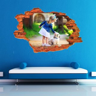 Impression Wall Cute Girl Poster