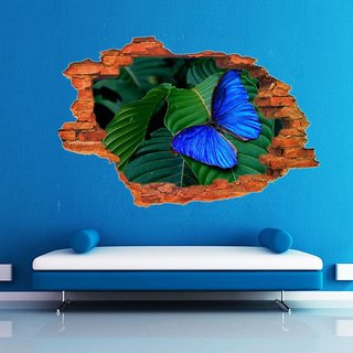 Impression Wall Butterfly Poster