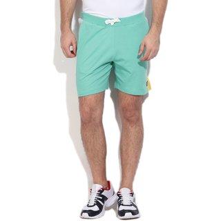 Sky color gym shorts