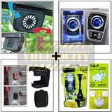Car Exhaust Fan & Bvezel Perfume & Drink Holder & Bractron Cup It Mobile Holder
