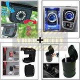 Car Exhaust Fan & Bvezel Perfume & Drink Holder & Ash Tray