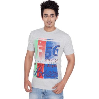 Wincraft 100% Cotton Bio Washed Graphic T Shirt Grey