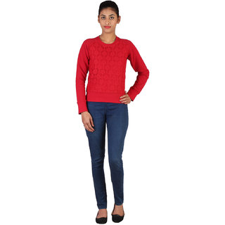 Lee Womens Red Sweatshirt