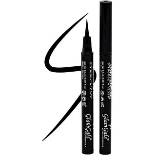 Glamgals Waterproof Inkliner Black 1.2ml