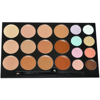 Glamgals 20 color Matte Finish waterproof concealer palette 50 Ml