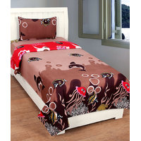 BSB Trendz Single Bedsheet With 1 Pillow Covers