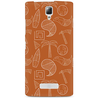 CopyCatz Tribal Tools Premium Printed Case For Lenovo A2010