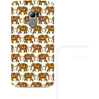 CopyCatz Enchanting India Elephant Artwork Premium Printed Case For Lenovo K4 Note