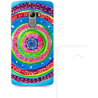 CopyCatz Concentric Circle Doodle Premium Printed Case For Lenovo K4 Note