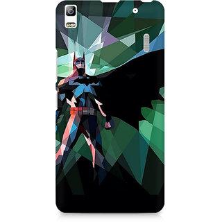 CopyCatz Batman Abstract Scream Premium Printed Case For Lenovo A7000